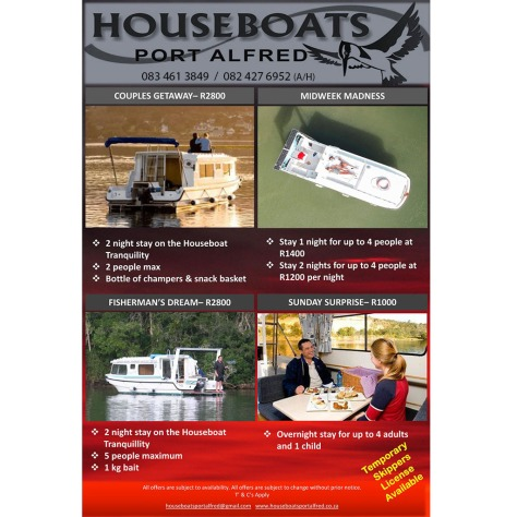 Houseboats Specials & Packages 2018